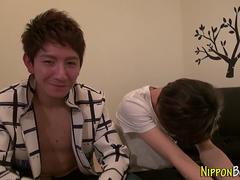 asian twink cums tugging asian film 2