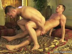 Exotic sexual techniques of two gay lovers