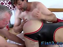 Boys fist fucking videos and staxus gay Fist n Fuck Fest for Three Pigs