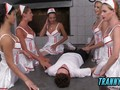 Awesome guy pounded by hot nurses