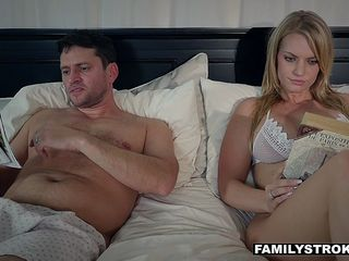 FamilyStrokes - Scared Stepdaughter Gets Fucked After Cuddling