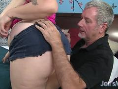 Fat cock for full figured babe Marilyn Mayson