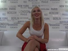 Czech Casting - Young, Horny and Tight Pussy