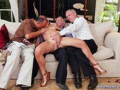 Old young anal gangbang xxx Frannkie And The Gang Tag Team A Door To Door Saleswoman