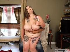 Teen BBW Busty Emma Has Shopping and Dick Addiction
