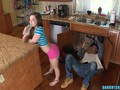 Bored Daughter finds plumbers cock