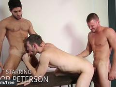 Men.com - Darin Silvers and Diego Sans and Jacob Peterson - Stealth Fuckers Part 13