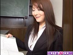 Mei Sawai with big tits is fucked in beaver - More at hotajp.com