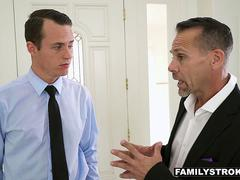 FamilyStrokes - Busty Slut Ryder Skye Fucks Her Stepson Before Marrying His Dad