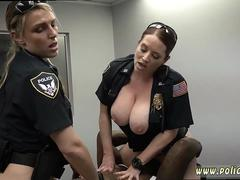 Russian interracial gangbang hd Milf Cops