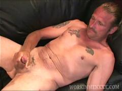 Mature Amateur Michael Jacks Off