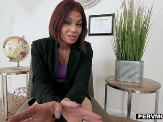 PervMom - Stepson Gets Blowjob From Horny Stepmom