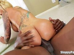 Lexington Steele Porn with Ryan Conner and Anikka Albrite