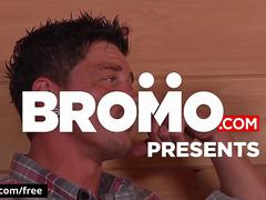 Bromo - Bryce with Sebastian Young Tom Faulk at Backwoods Bareback Part 2 Scene 1 - Trailer preview