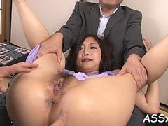asian gangbang with hot anal feature clip 1