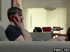 FamilyDick - Teen Takes A Hung Daddy Cock