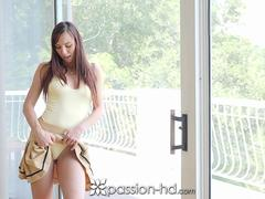 Soldier cums home to hot housewife PASSION-HD