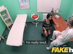 Fake Hospital Big tits Polish babe Ania Kinski loves swallowing doctors cum
