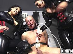 Hot mistress domination and orgasm