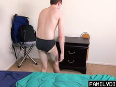 FamilyDick - Teen Gets Seduced by His Hot Daddy