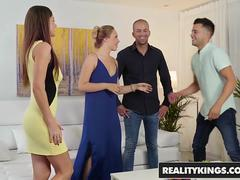 Reality Kings - Euro Sex Parties - Sharing And Caring - Tina Kay Selvaggia