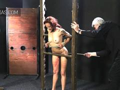 Redhead gets the rattan cane treatment
