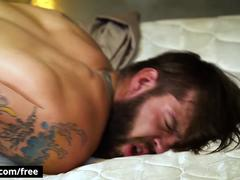 Buck Richards with Damien Stone at Bareback Inquisition Part 2 Scene 1 - Trailer preview - Bromo