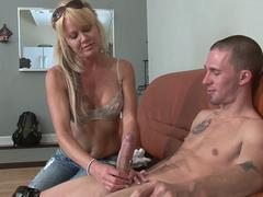 Milf Porn - Hot Milf With Big Tits - I Love Handjobs