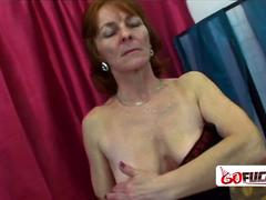 60 year old granny gets her cunt drilled hard and deep