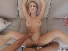 Milf leg shaking orgasm Cherie Deville in Impregnated By My Stepchums son