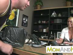 Melanie Monroe hot horny boss lady