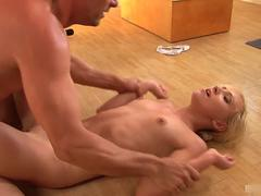 Nataly Von enjoys the advances of Toni, and once shes ready to give
