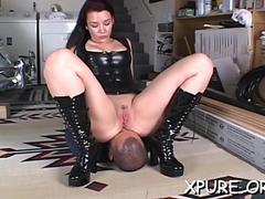 hot scene with femdom action video movie 1