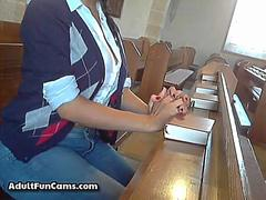 Amateur Mom Squirt On Cam
