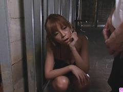 Sumire Matsu On Her Knees Begging For His Cum - More at Slurpjp.com