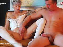 MyDirtyHobby - Milf goes for a ride!