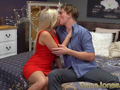 Dane Jones German blonde Gabi Gold pussy licked pounded and creampie