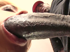 Katie Kox squirts on black cock
