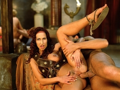 Wild Roman Orgy with Cameron Cruise Cynthia Nike and Sophie Evans