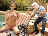 Ashley Adams outdoor squirting