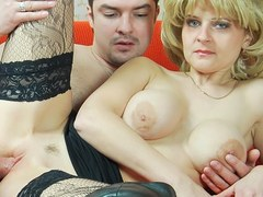 WANKZ- Busty Martina Gets Cum Splattered