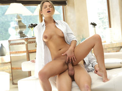 Hot Angel Rivas on a long dick