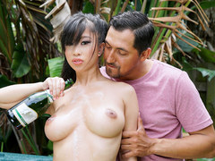 TittyAttack - Asian Teen Gets Titty Fucked
