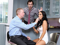 She Makes Her Cuckold Husband Watch To See What a Loser He Really Is