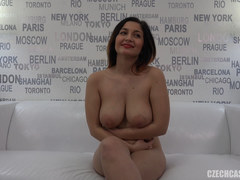 Hot Casting Teen with Big Natural Tits