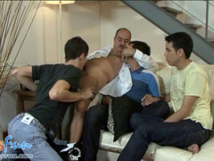 aged cop enjoys gangbang with young troublemakers film